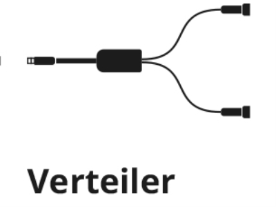 Twinkly PRO Verteiler für WIFI Controller - max. 400 LEDs (2x200) - IP65